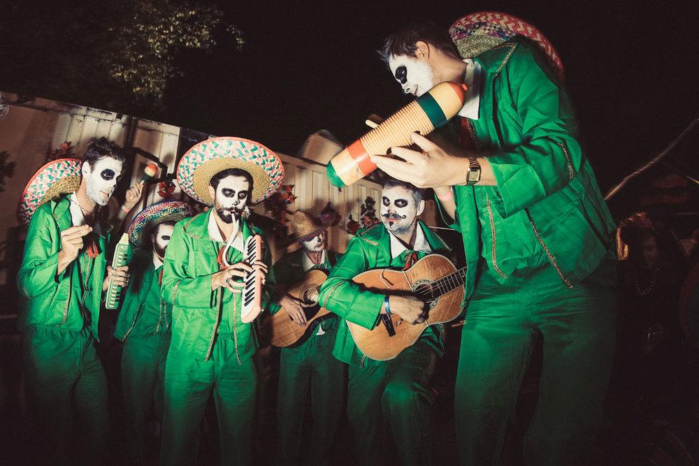 Mad Ferret & Percolate do Mexican Death Disco at Ican Studio 2014