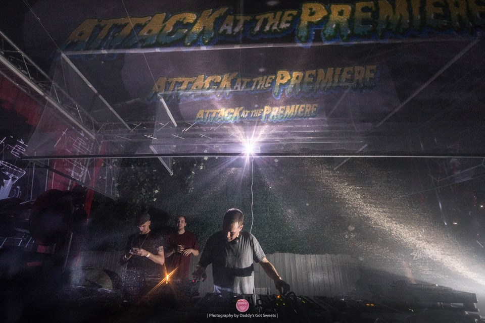 """Attack at The Premiere"" Visuals at Studio 338"