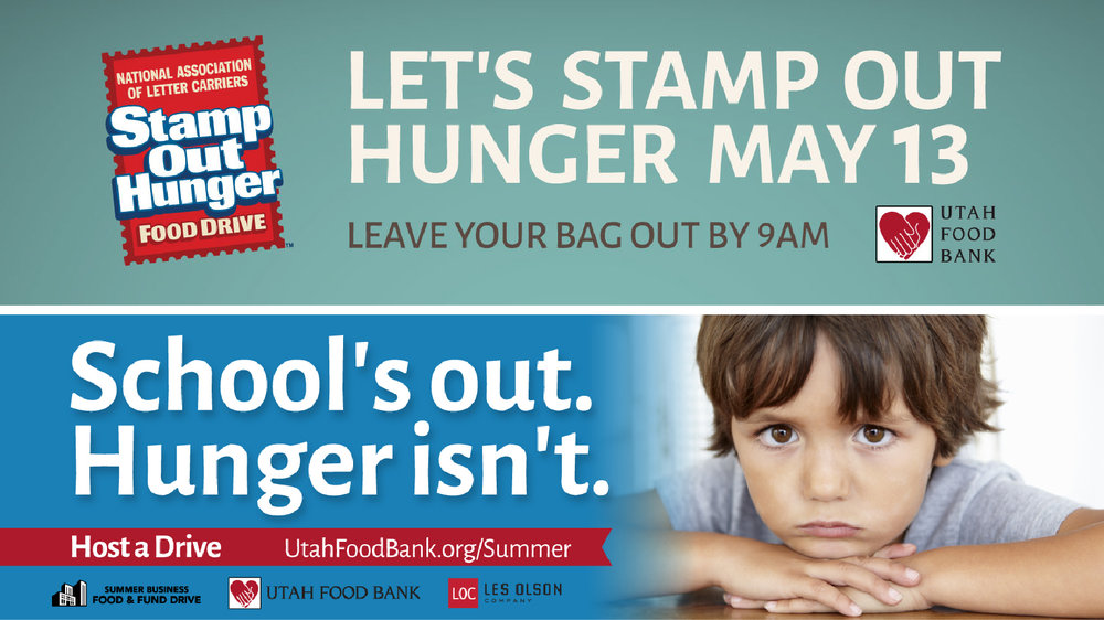 UtahFoodBank Billboards