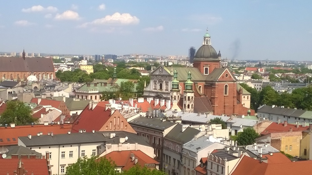 Krakow; From the Wawel Cathedral bell tower