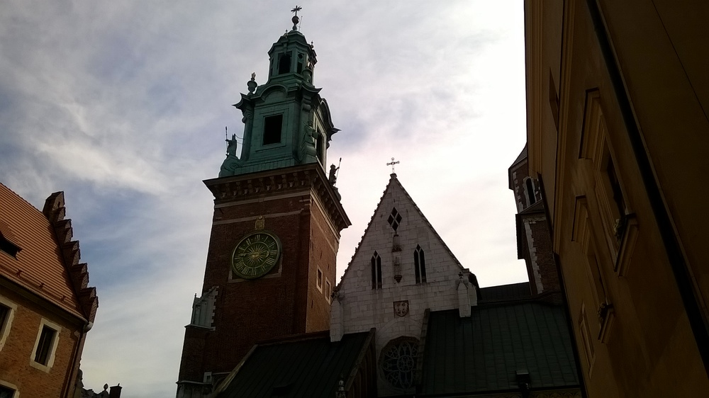 Wawel Cathedral bell tower from outside