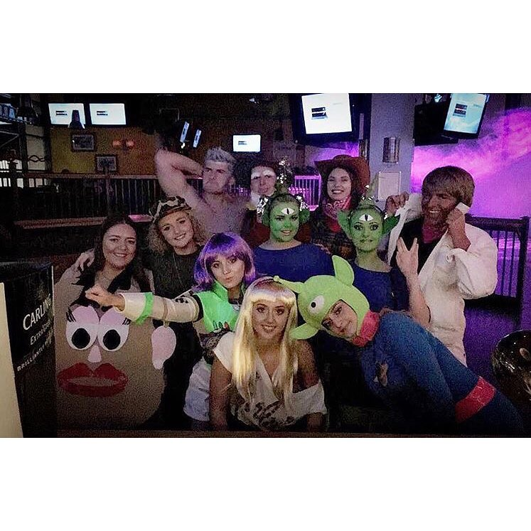 Toy Story night out at Walkabout