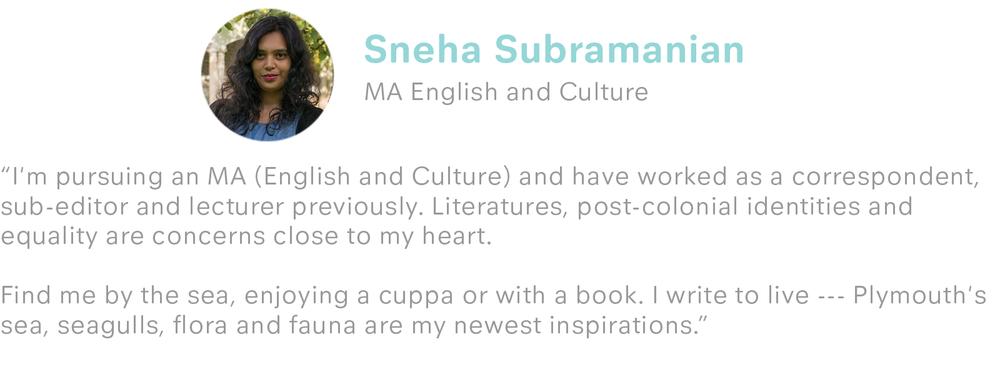 Sneha Subramanian