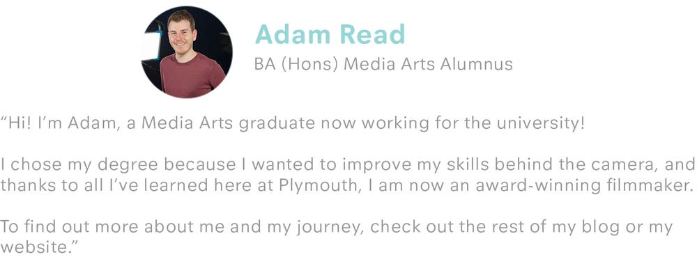 Adam Read bio