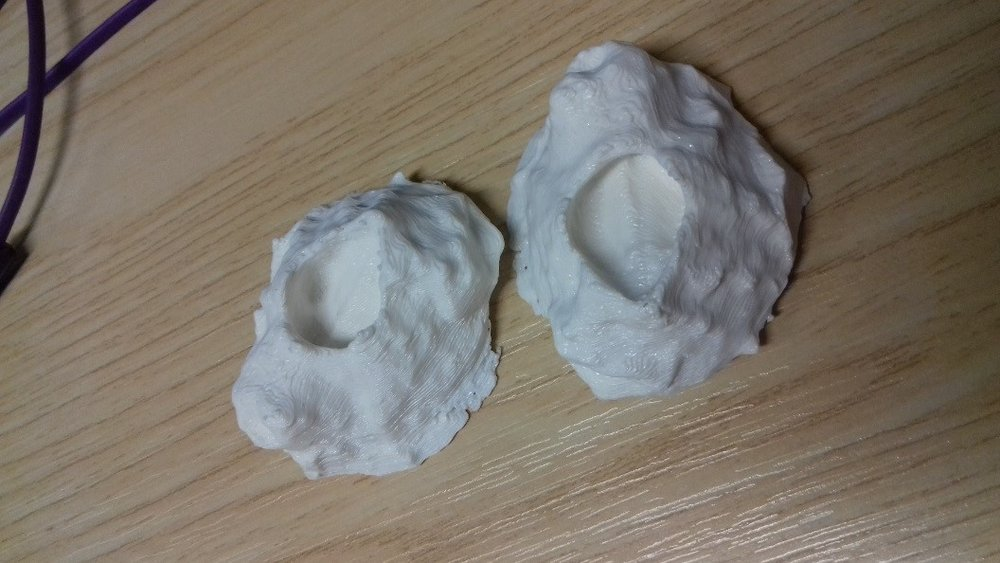 3D printed barnacles – merging my creative and scientific sides.