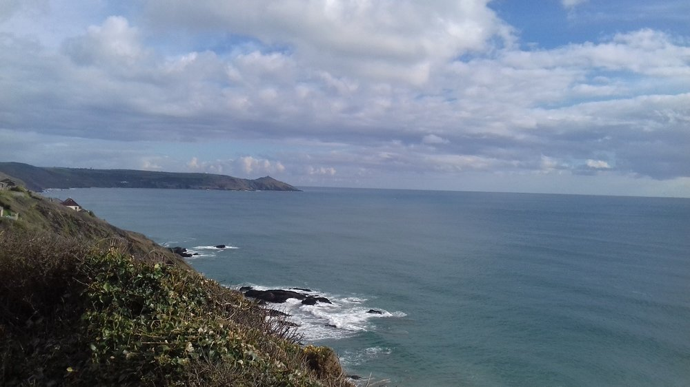 Some artistic inspiration from Plymouth's coastline.