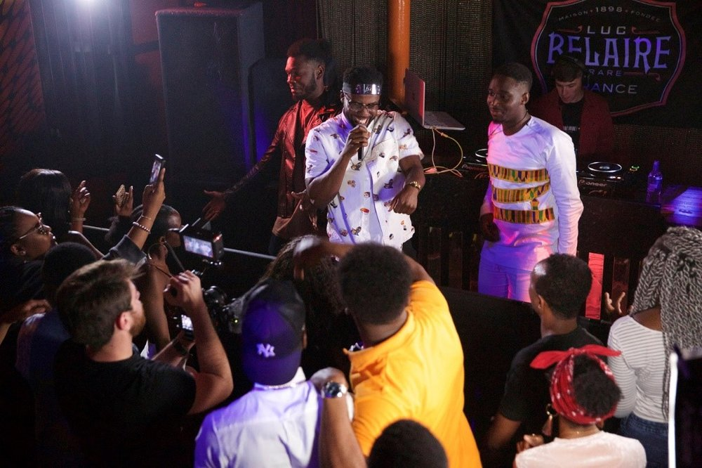 Video shoot: Performing the Sauce & Vibes anthem with DKB, Brian Steenz and DJ RAFTS at Crash Manor Plymouth