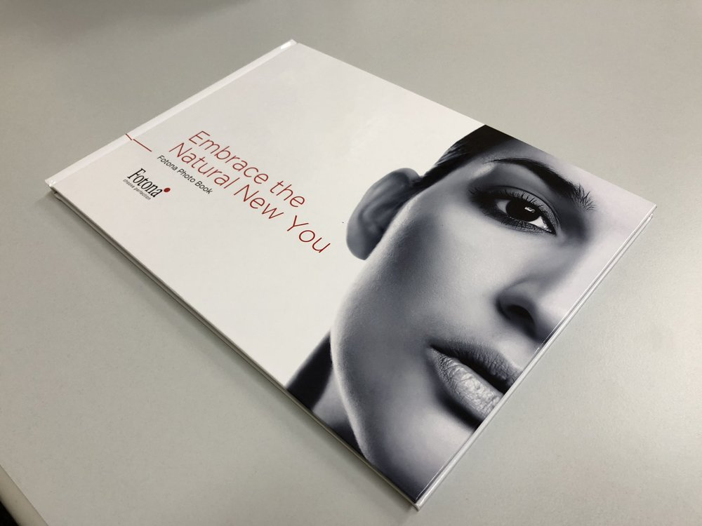 The new Fotona Photobook - The new marketing material for Fotona users is now aviable at CDP SWISS AG.