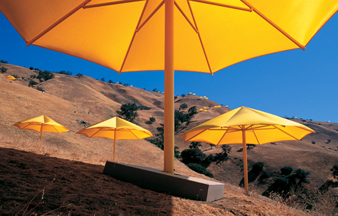 Umbrellas - Jeanne-Claude and Christo