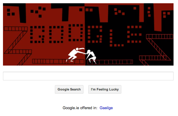 Google's Tribute to Saul Bass