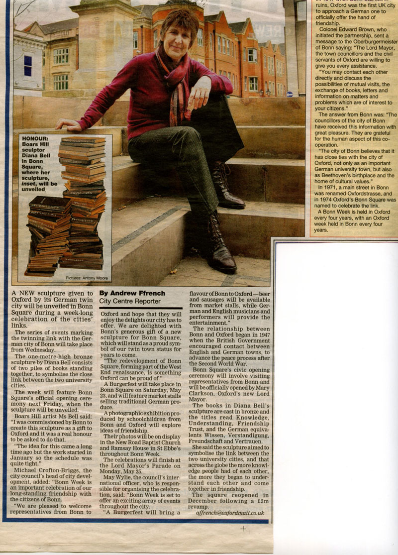 OXFORD MAIL, May 2009