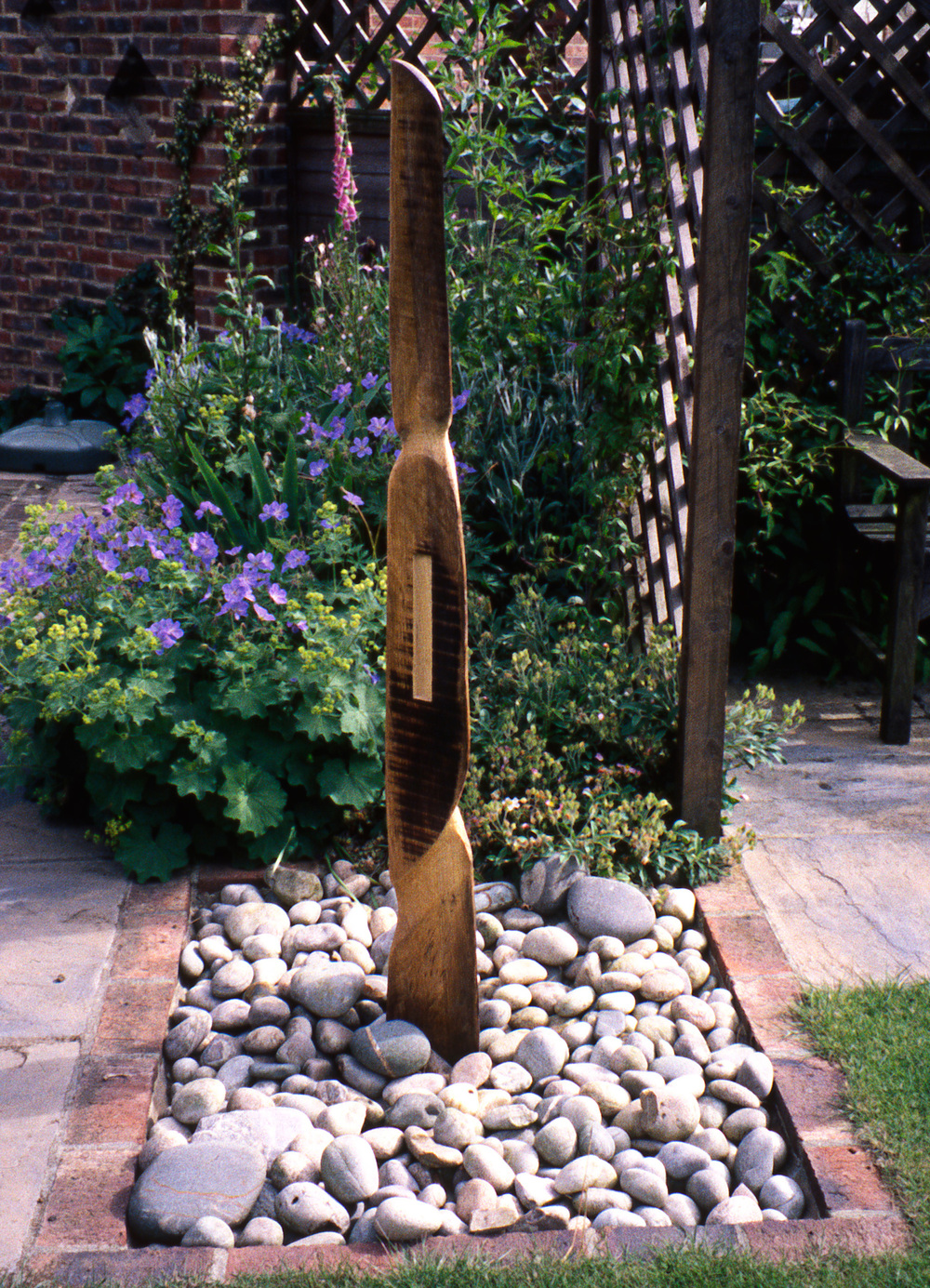 SENTINAL Carved oak Available to buy, please contact me.