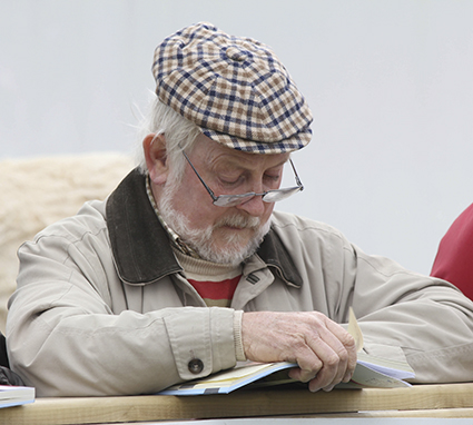Malachy Hamill Interset at judging.jpg