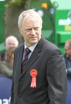 Balmoral Simmental judge, Gerard Brickley, Portlaois
