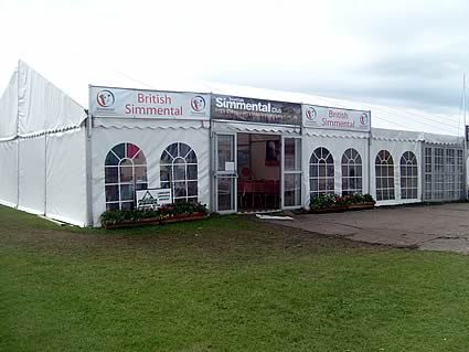 The Simmental Marquee