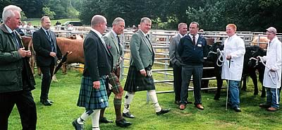 Prince Charles at Bute Show