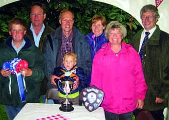 Some of prize winners of 2009 herd competition