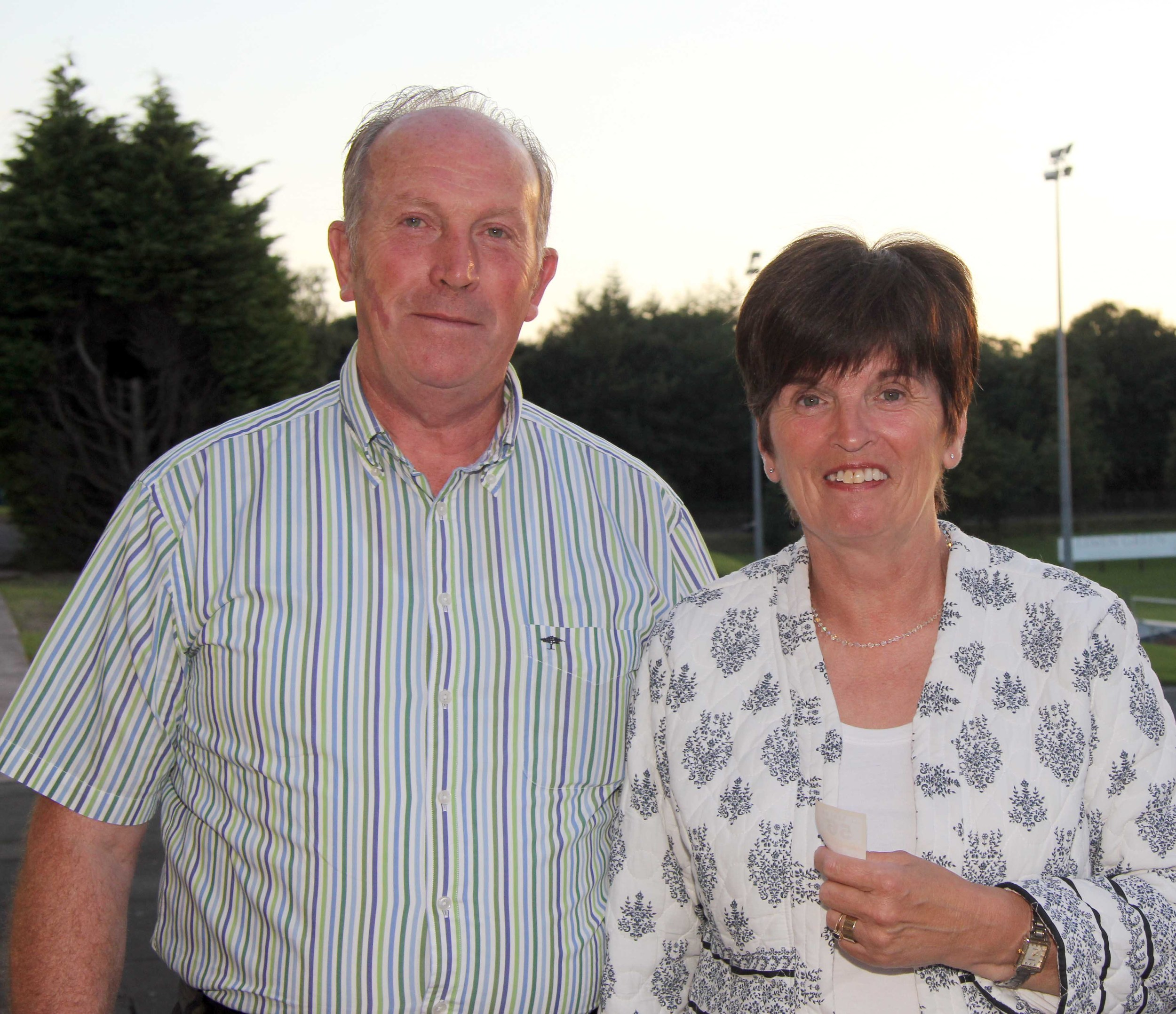 Simmental breeders Joe and Phyllis Wilson, Newry, enjoyed the club's annual BBQ. Picture: Julie Hazelton