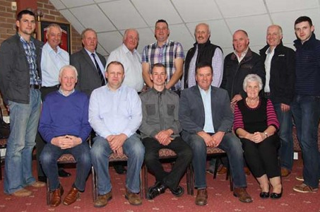 Office bearers and committee members of the NI Simmental Cattle Breeders' Club pictured at its AGM, held at Dungannon. Picture: Julie Hazelton