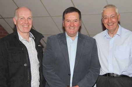 The British Simmental Cattle Society's Northern Ireland Council members include, from left: Norman Robson, Doagh; Robin Boyd, Portglenone; and Robert Rodgers, Portglenone. Picture: Julie Hazelton
