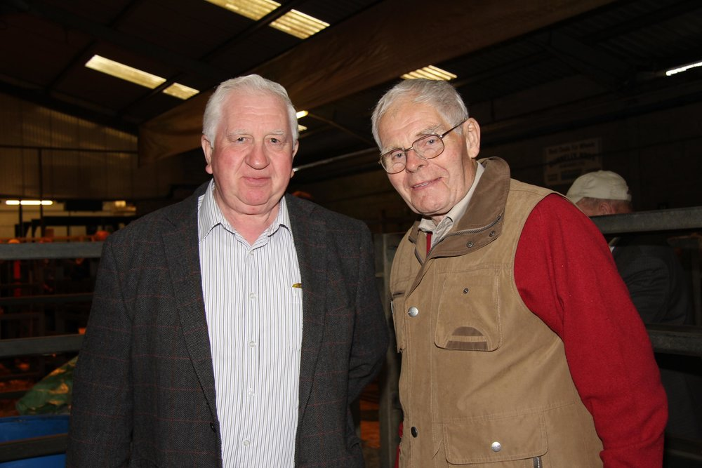 Fellow Simmental Breeders Cecil McIlwaine, County Tyrone & Billy Robson, County Antrim