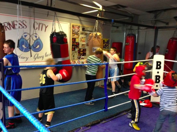 Merkinch Welfare Hall is to be the new home of Inverness City Amateur Boxing Club