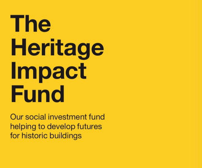 A new £7 million partnership social investment loan fund - The HIF offers tailored finance for charities, social enterprises and community businesses across the UK to develop sustainable heritage at the very heart of vibrant local economies.