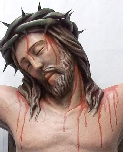 Crucifix, detail