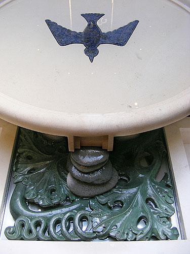 Baptismal Font, detail