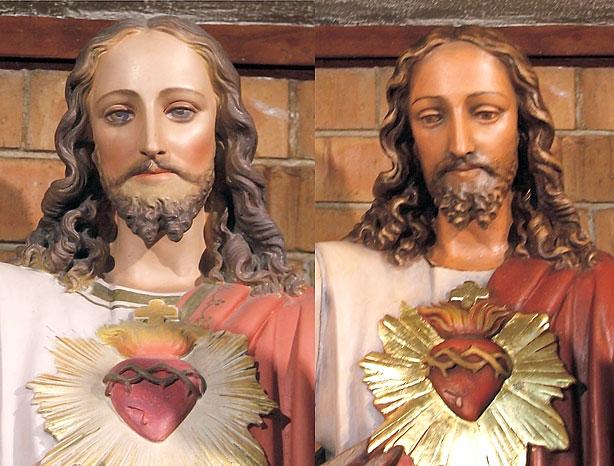 Sacred Heart, detail