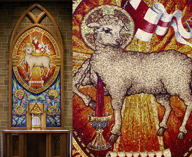 Lamb of God Mosaic