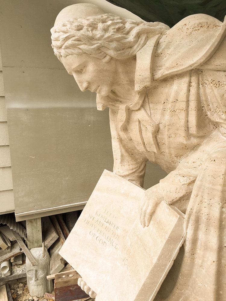 De La Salle College Memorial Statue