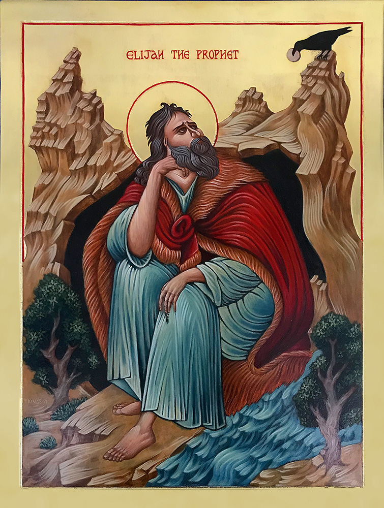 Icon of the Prophet Elijah 35 x 47 cm NZD$2,500.00   Enquire
