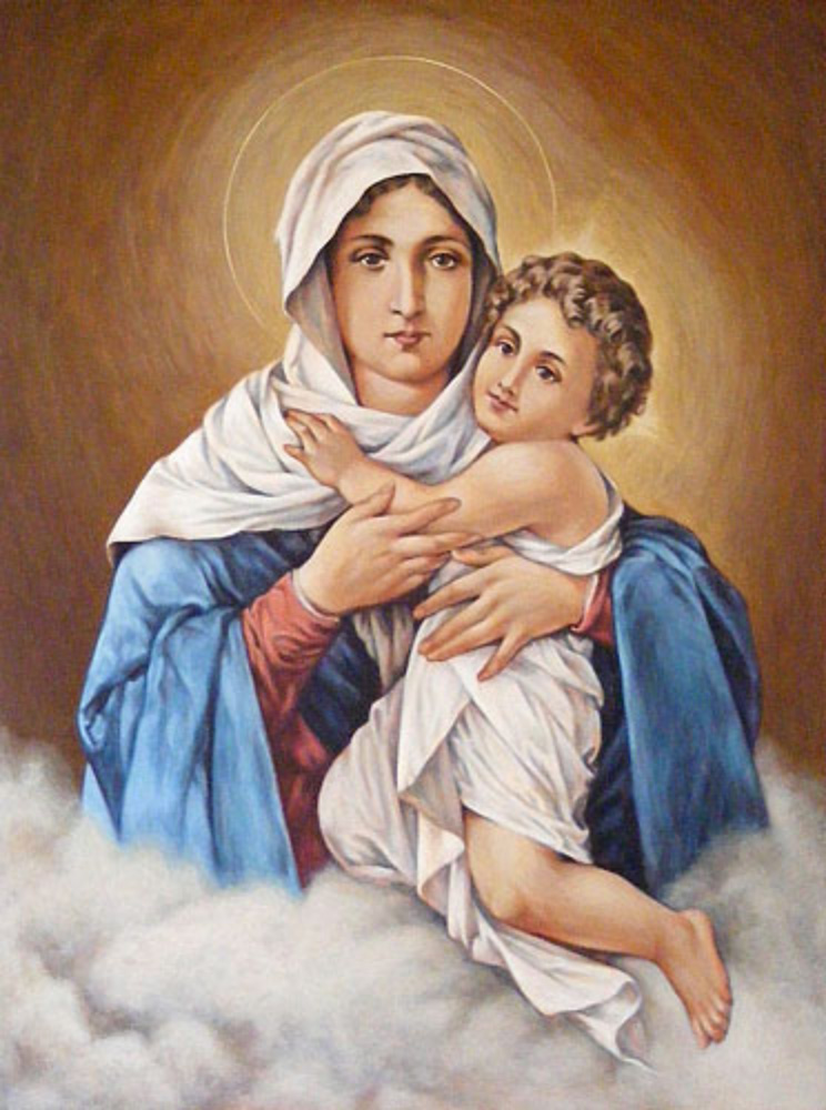 Our Lady of Schoenstatt 100 x 75 cm NZD$8700.00   Enquire