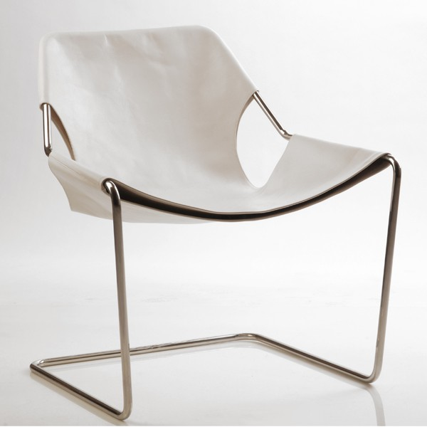 Objekto Paulistano Armchair White Leather
