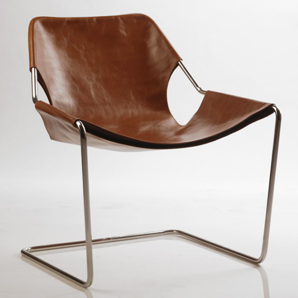 Objekto Paulistano Armchair With Stainless Steel Frame