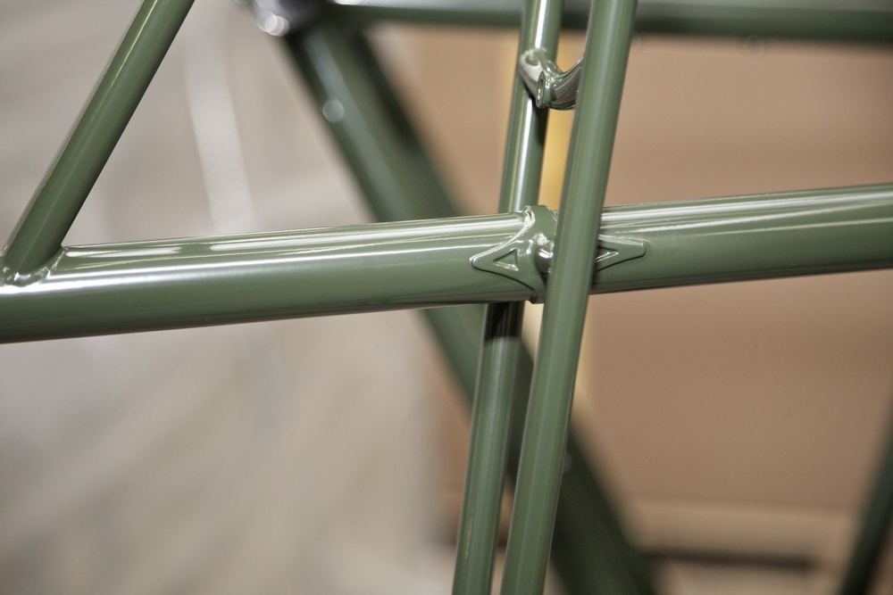 Powder Coated Steel Bike Frames