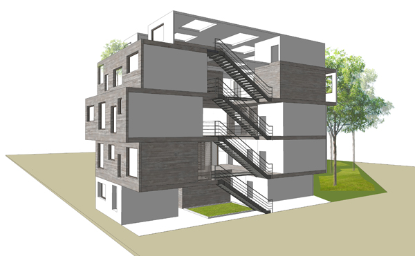 Student house project
