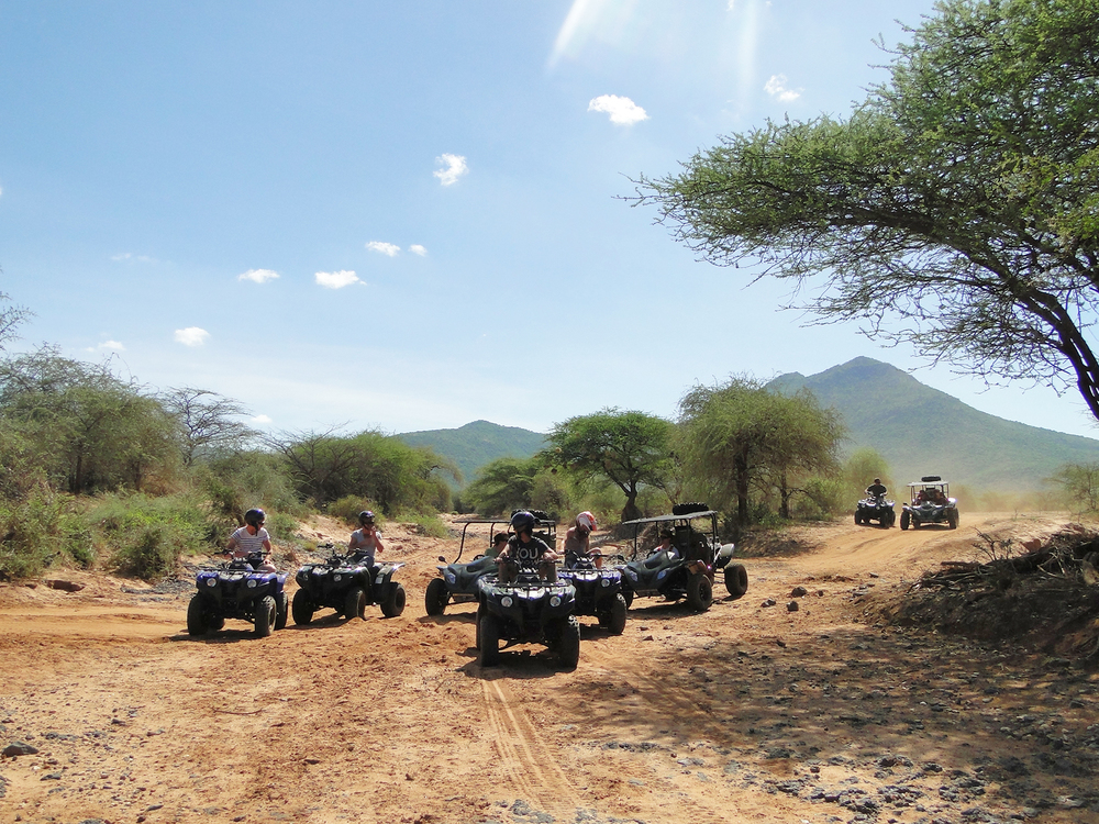 Quad Bike Safaris from Sirikoi