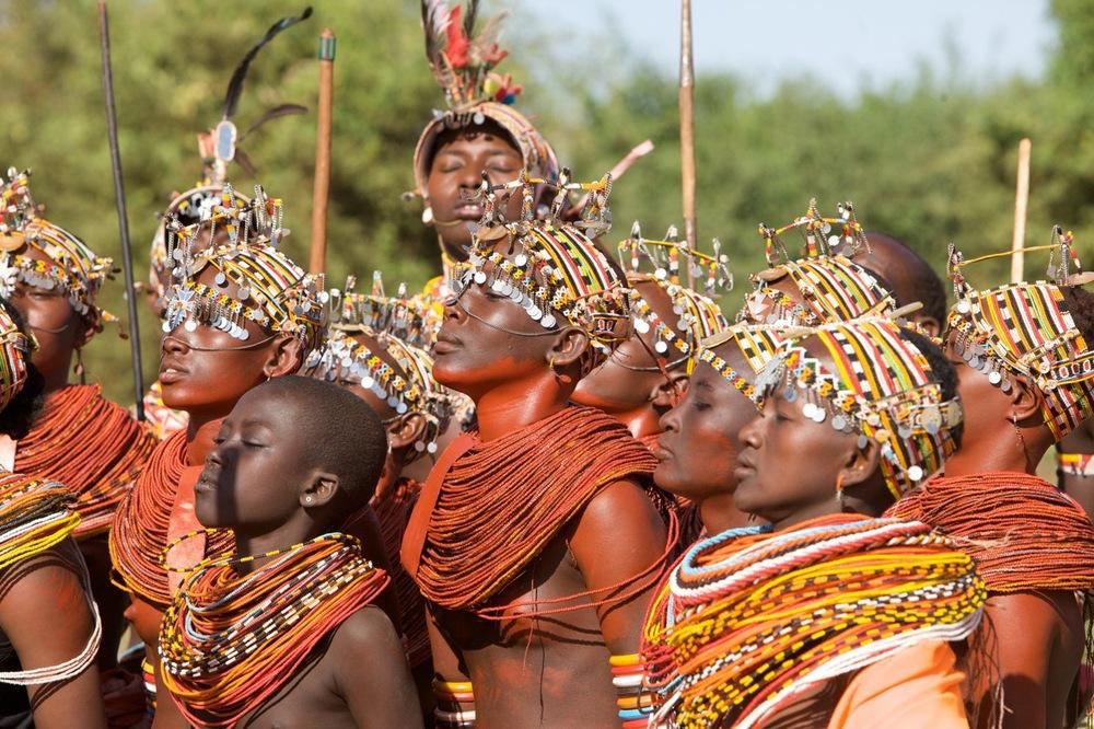 Rendille Dancers from Sirikoi, Kenya