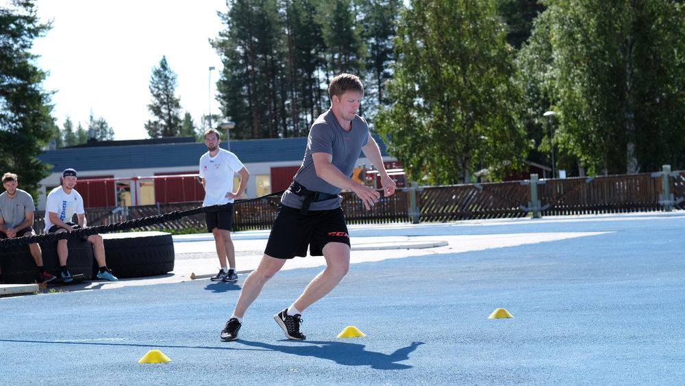 Tim Heed snabba fötter med motståndsband