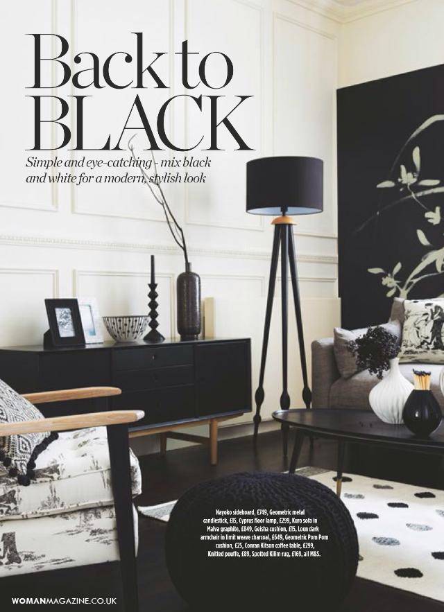 Woman Magazine - Apr 2015  Nayoko Sideboard