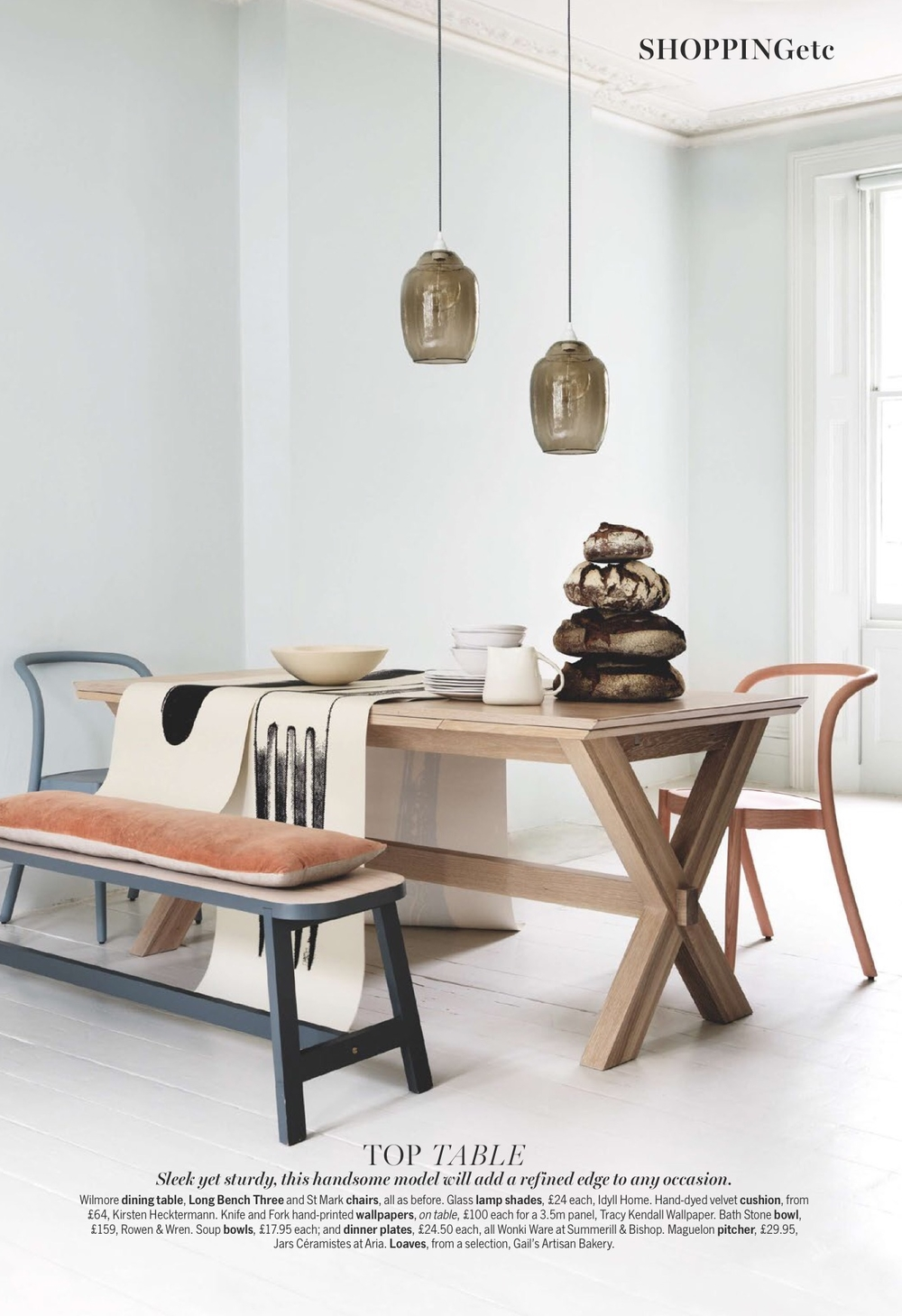 Wilmore Dining Table - Livingetc - Sep 15