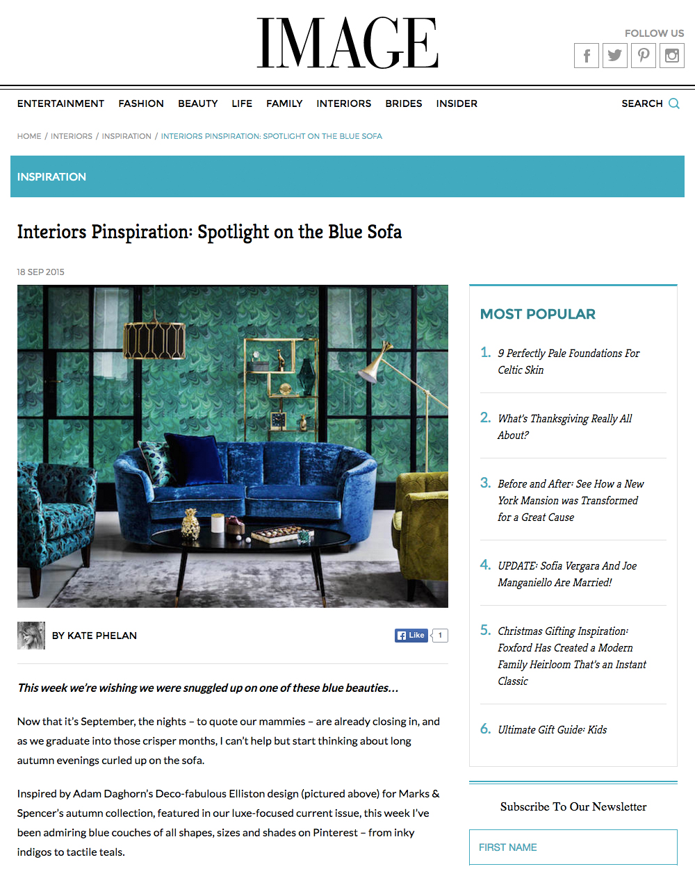 Image Interiors & Living - Sep 15