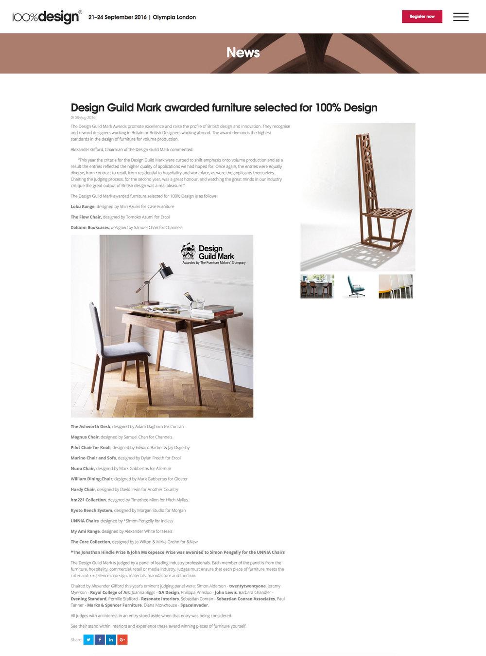 100% Design - News -Aug 2016  M&S Home