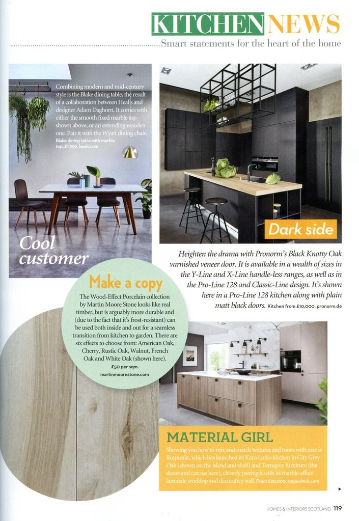 Homes & Interiors - February 2018  Blake Dining Table for Heal's