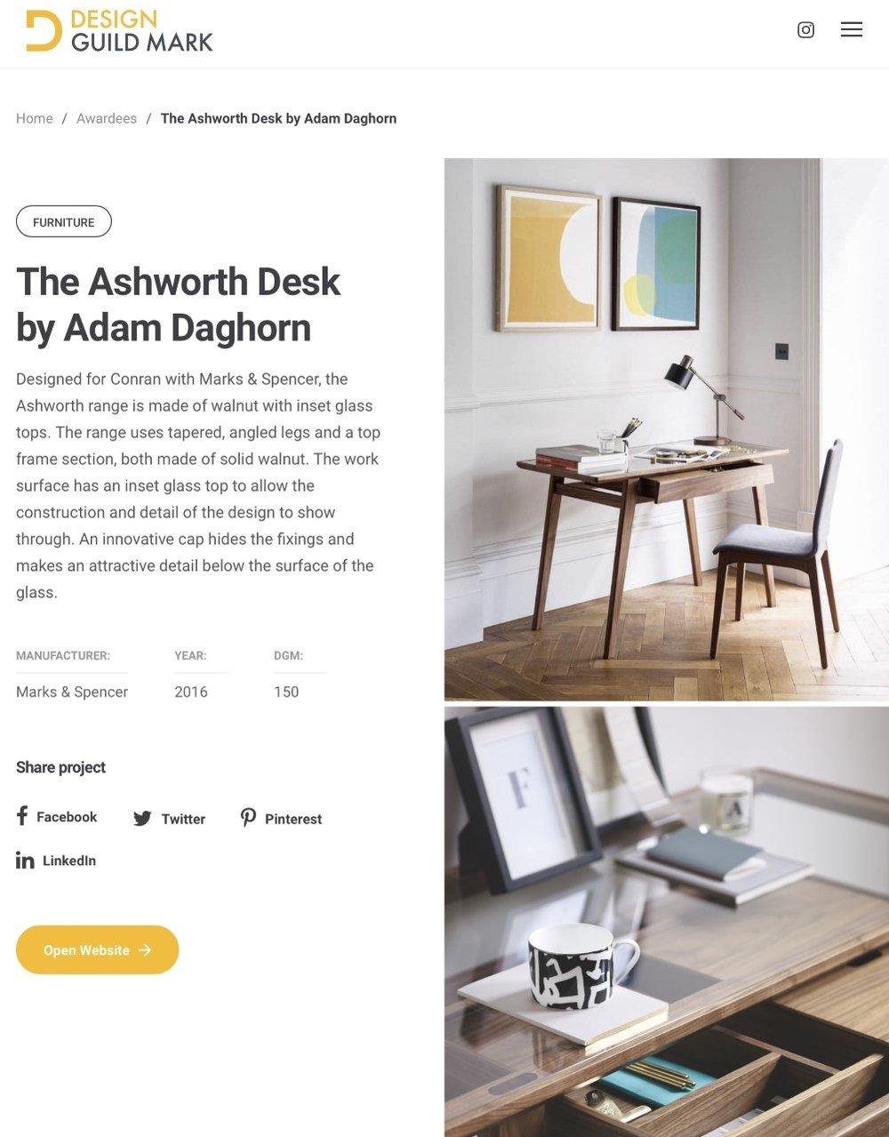 Ashworth Desk