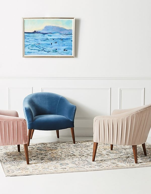 Amy Pleated Chair