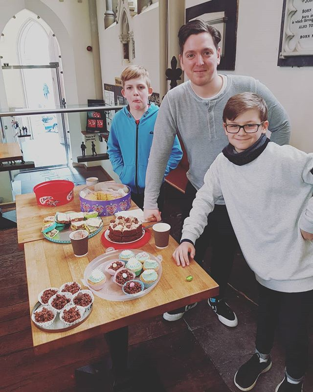 Lads were on it this morning with a bake sale. Few star bakers and absolutely no soggy bottoms!