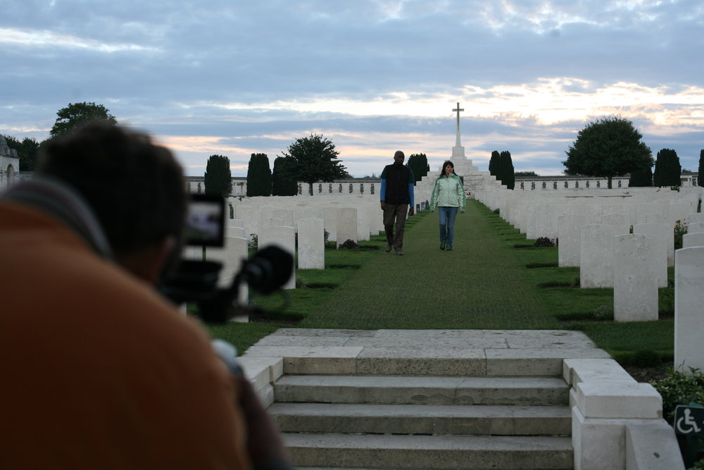 Early morning at Tyne Cot, near Ypres in Belgium, the resting place for so many fallen from the Commonwealth countries, 2013